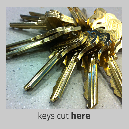 Keys cut here