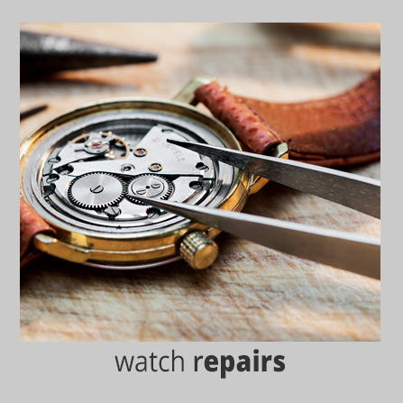 watch repairs at the Handy Hut